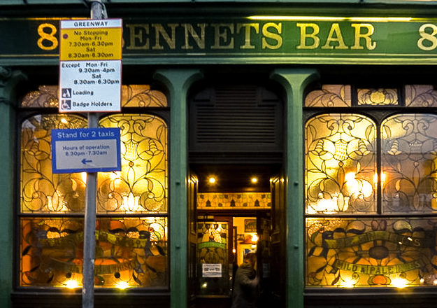 Bennet's Bar, Edimburgo. © Richard West CC BY-SA 2.0