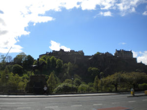 Edimburgo, capital de Escocia