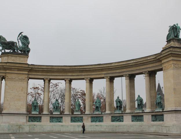H?sök tere, Budapest, Hungría.