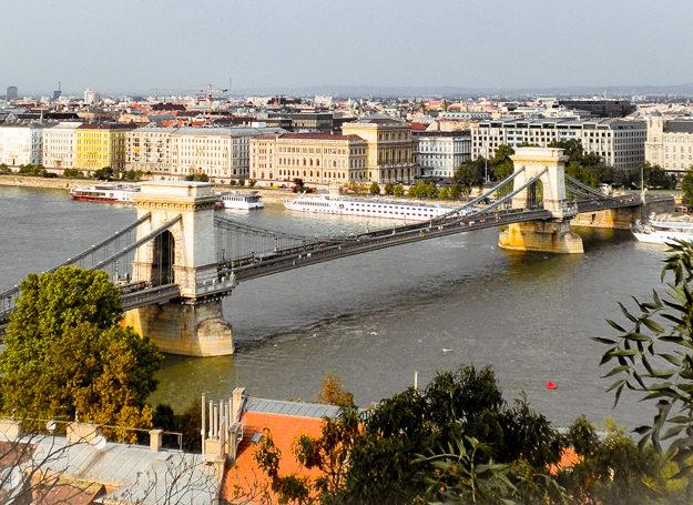 Puente de las Cadenas de Budapest, Hungría.