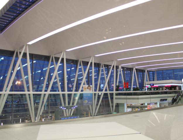 Aeropuerto Liszt Ferenc de Budapest, Hungría.