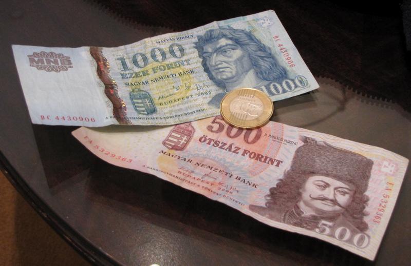 Florín, moneda de Hungría. © 2010 jeaneeem CC BY-NC-ND 2.0