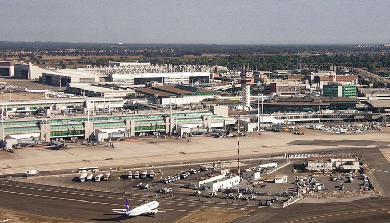 Aeropuerto de Roma-Fiumicino, Italia. © RaBoe/Wikipedia CC-BY-SA-3.0