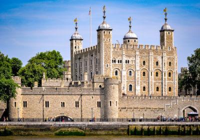 Torre de Londres, capital del Reino Unido. © 2013 Bob Collowan CC-BY-SA-4.0.