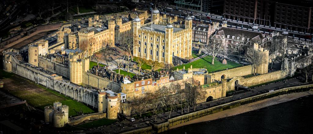 Vista aérea de la Torre de Londres, capital del Reino Unido. © 2013 Duncan CC BY 2.0.