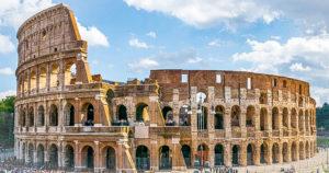 Coliseo de Roma, Italia.