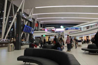 Aeropuerto de Budapest, capital de Hungría.