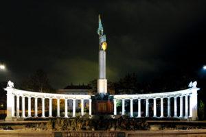 Monumento a los héroes del ejército rojo, Viena, Austria.