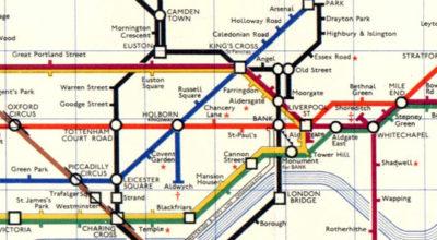 Mapa del metro de Londres, Reino Unido. © 2006 Annie Mole CC BY 2.0