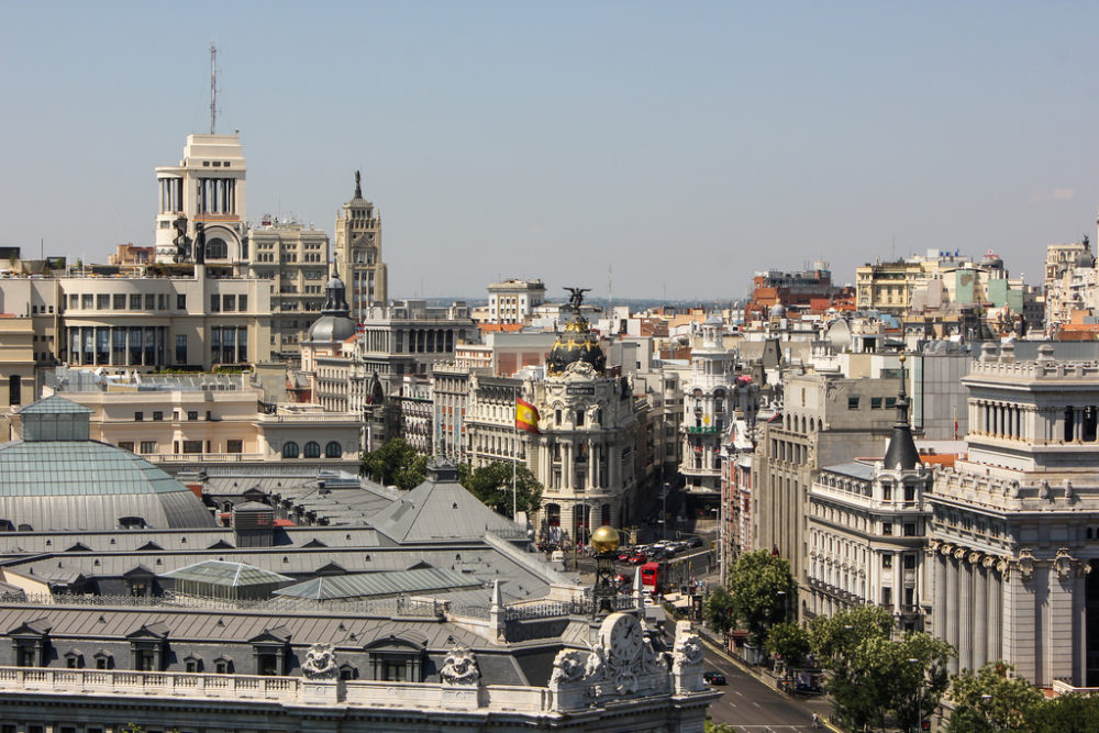 Madrid, capital de España