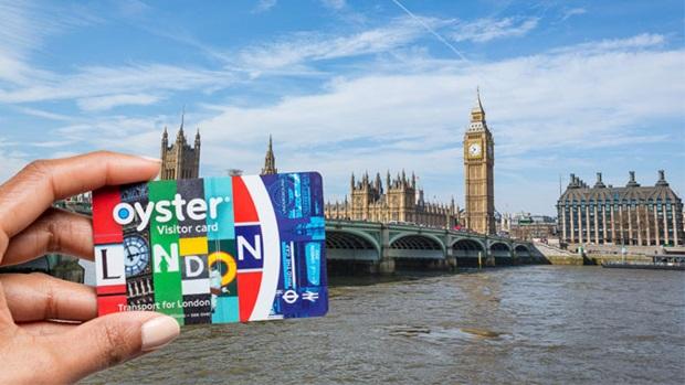 Visitor Oyster Card de Londres, Reino Unido.