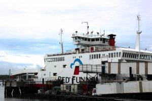 Ferry a la Isla de Wight, Reino Unido