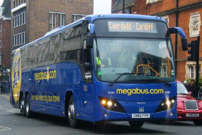 Autobús de Megabus © 2010 Steven Hughes CC BY-NC-ND 2.0