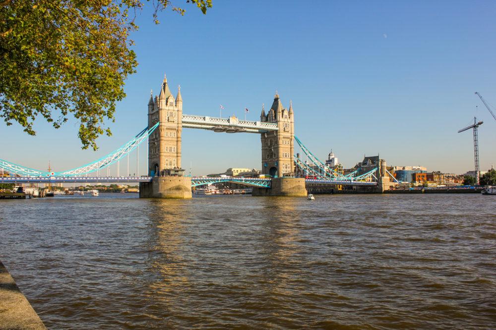 Tower Bridge, Londres, Reino Unido.