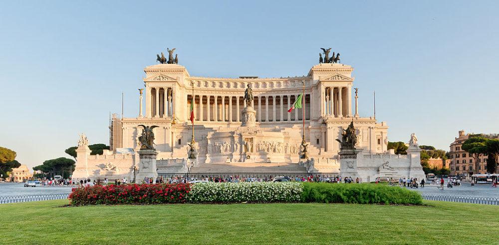 Monumento a Víctor Manuel II, Roma, Italia. © Paolo Costa Baldi CC-BY-SA 3.0.