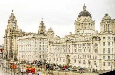 Las Tres Gracias, Liverpool, Reino Unido.