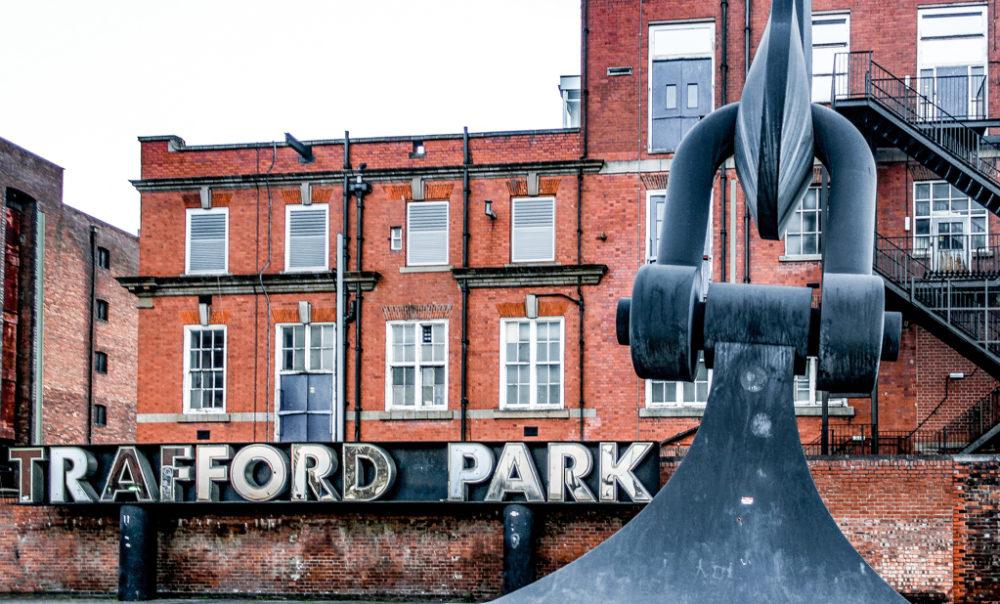 Trafford Park, Mánchester, Reino Unido.
