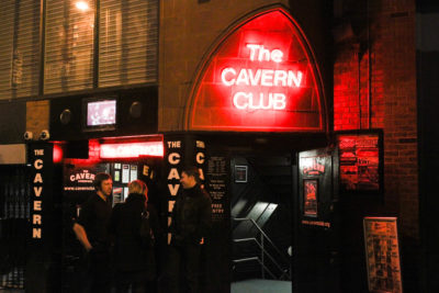 The Cavern Club, Liverpool, Reino Unido.