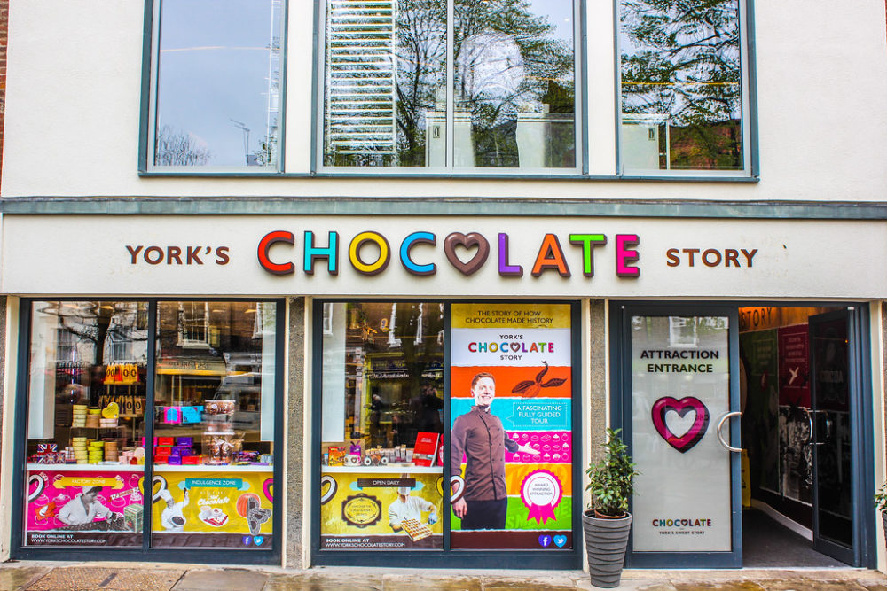York's Chocolate Story, York, Reino Unido.
