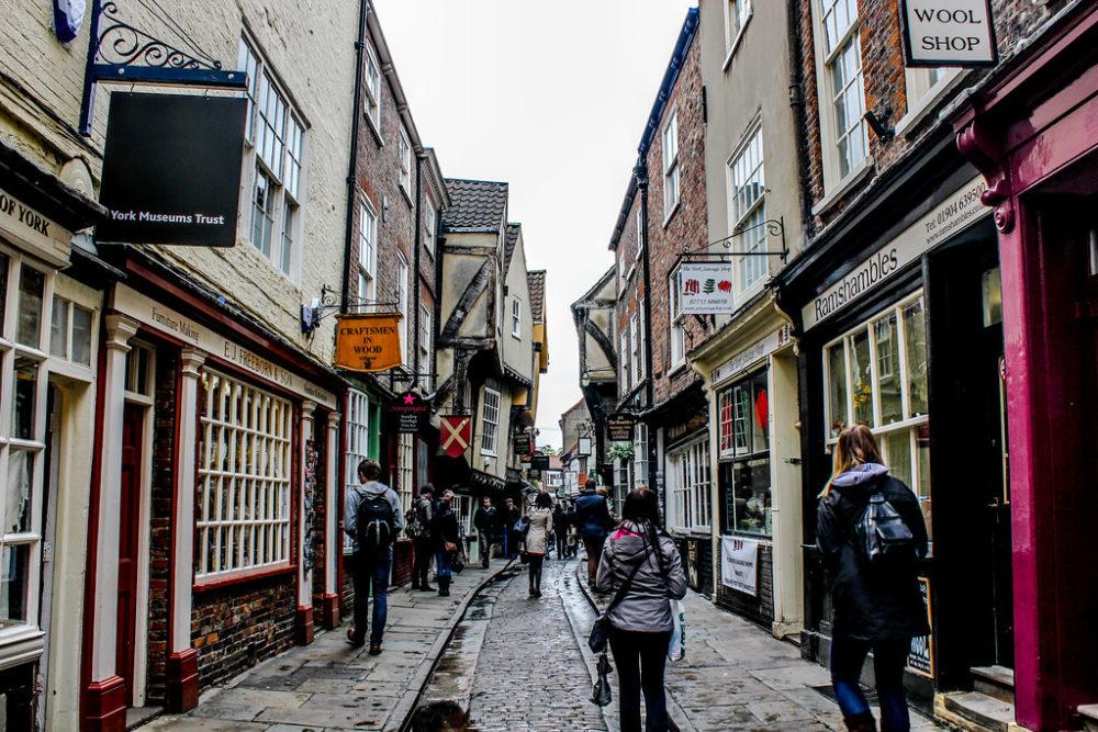 The Shambles, York, Reino Unido.