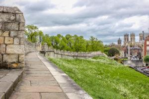 La muralla de York, Reino Unido.