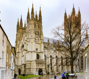 Catedral de Canterbury, Reino Unido.