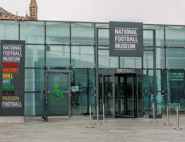 National Football Museum de Mánchester, Reino Unido