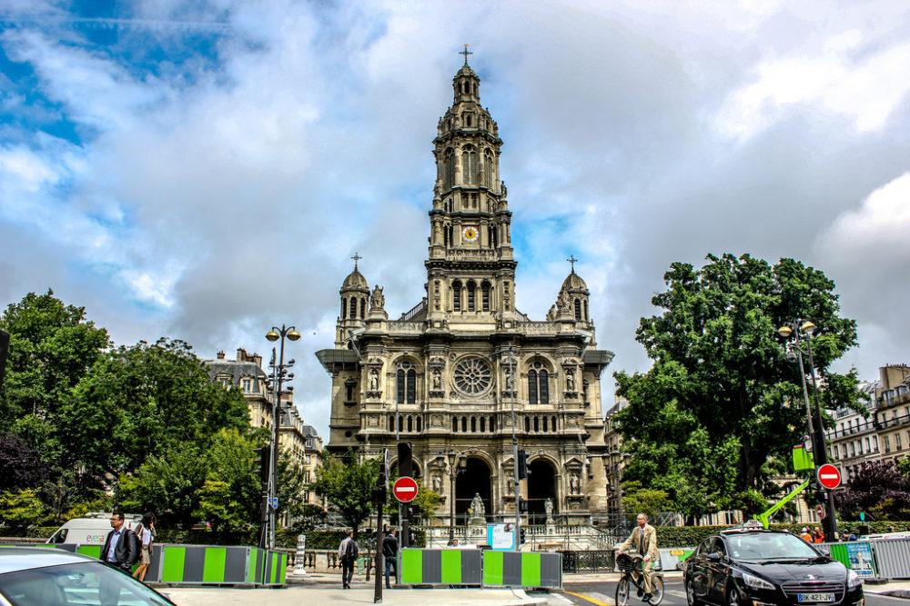 Iglesia de Santa Trinidad, París