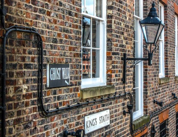 Fantasmas en York, Reino Unido.