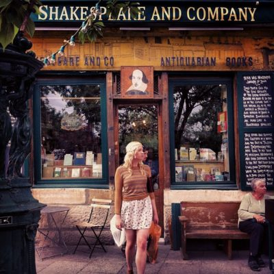 Shakespeare and Company, París, Francia.
