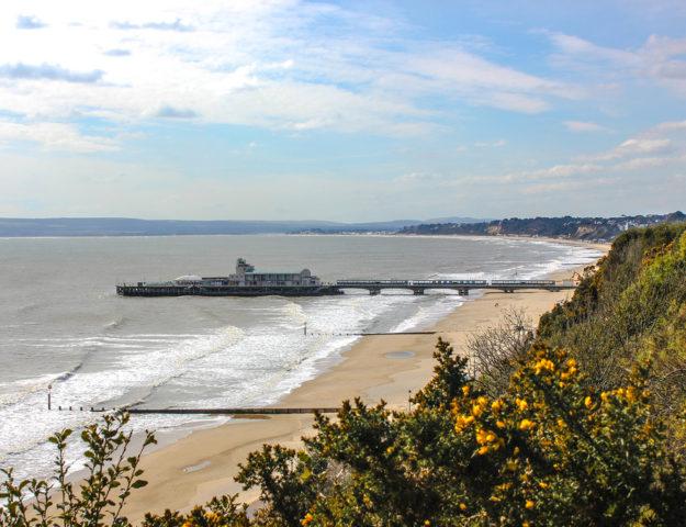 Playa de Bournemouth, Reino Unido.