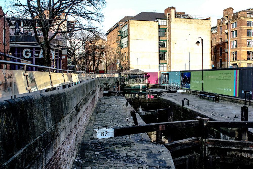 Gay Village, Manchester, Reino Unido.