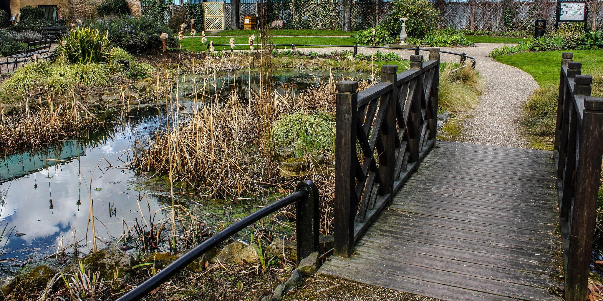 El red cross garden de southwark un jard n especial - Hostal el jardin benidorm ...