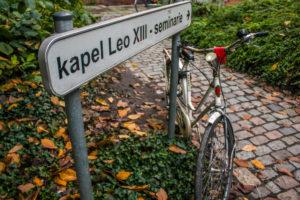 Bicicleta en Lovaina, ciudad de Bélgica
