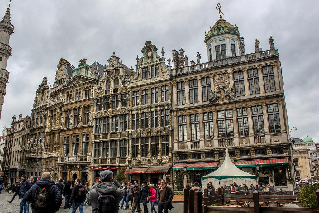 Grand Place de Bruselas, Bélgica