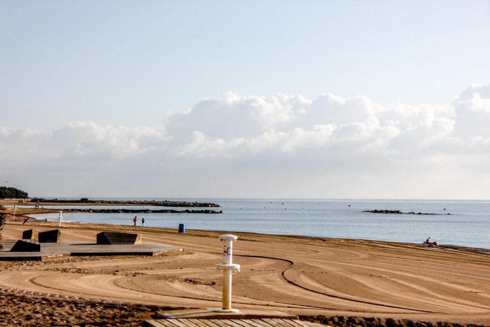 Playa de Vinaroz, España.