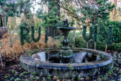 Kruidtuin, jardín botánico de Lovaina
