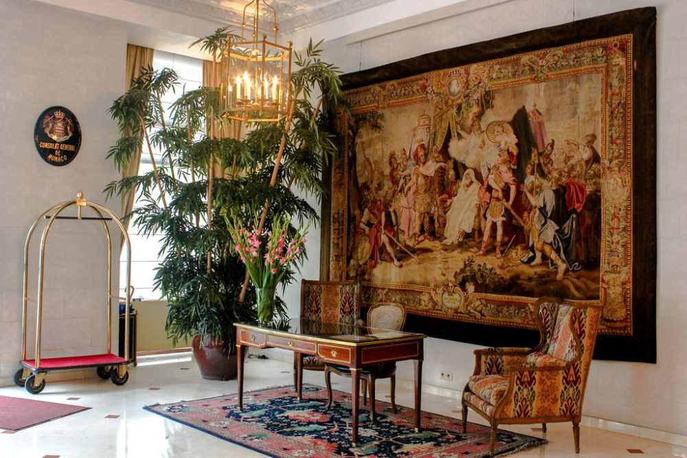 Hotel Le Plaza, Bruselas, Bélgica.