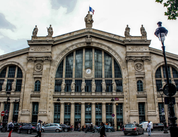 Gare du Nord, París, Francia