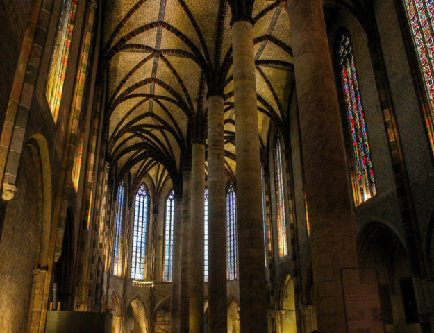 Convento de los Jacobinos, Toulouse, Francia.