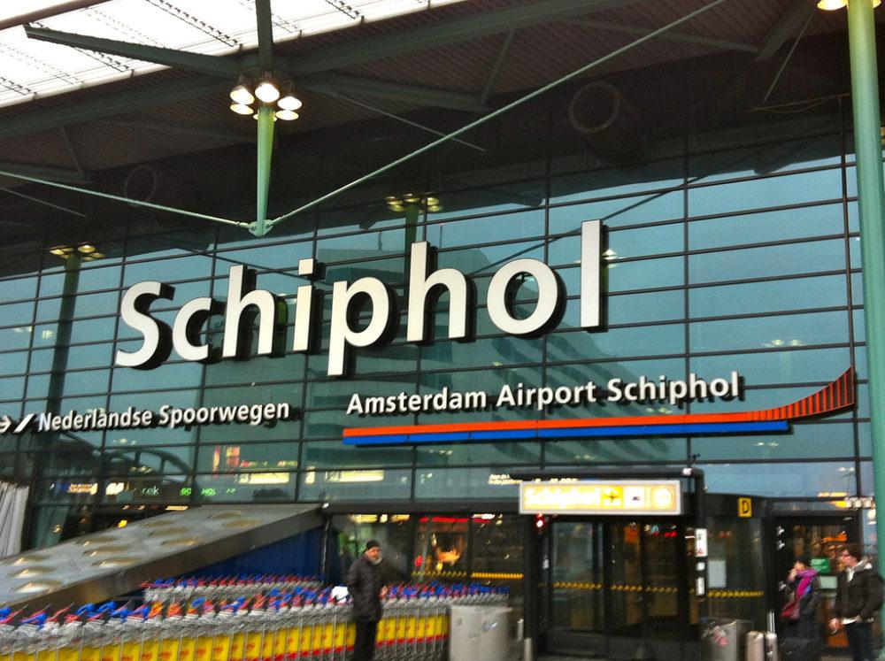 Aeropuerto de Schiphol, Ámsterdam, Países Bajos. © 2012 Andrew Nash CC BY-SA 2.0