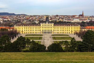 Palacio de Schönbrunn, Viena, Austria.