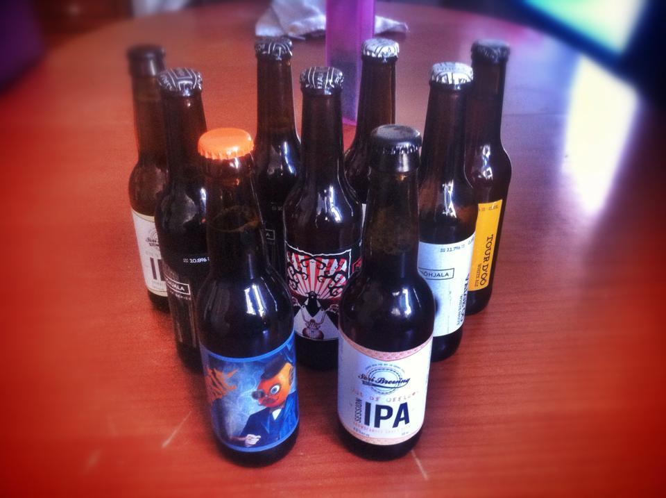Cervezas de Estonia.