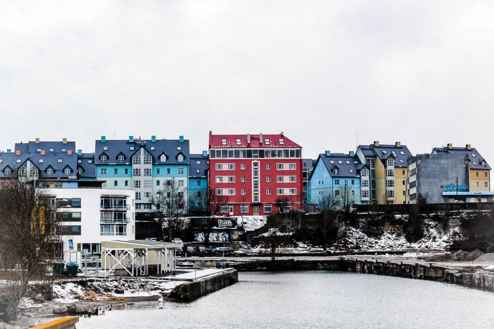 Kalamaja, barrio de los modernos de Tallin, Estonia.