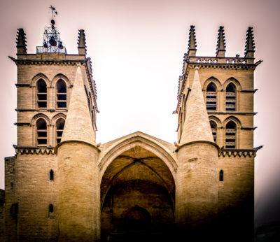 Catedral de San Pedro de Montpellier, Francia.
