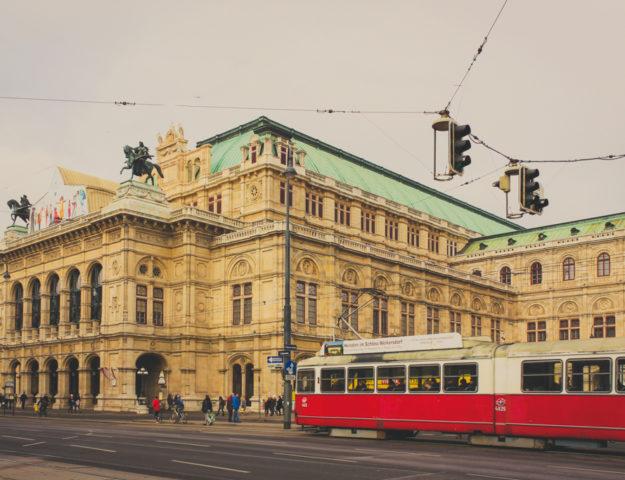 Ópera de Viena, Austria.