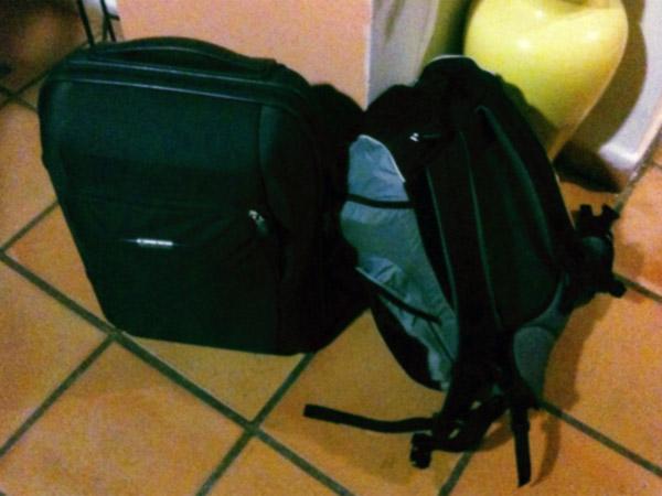 Mi equipaje al comenzar Vivir Europa.
