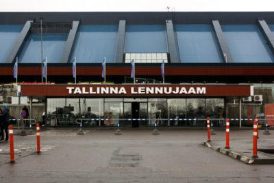 Aeropuerto de Tallin, Estonia.