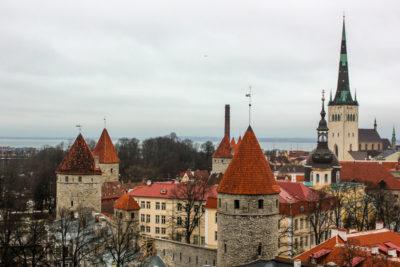 Tallin, capital de Estonia
