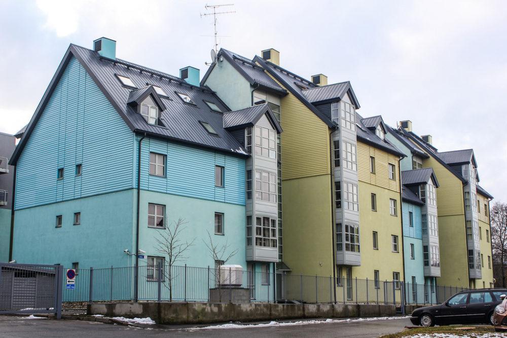 Casas en Kalamaja, Tallin